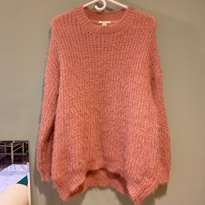 *Glittery Pink* Forever 21 Knit Sweater